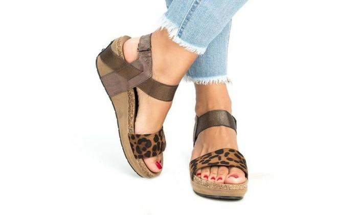 Women Casual Wedge High Heel