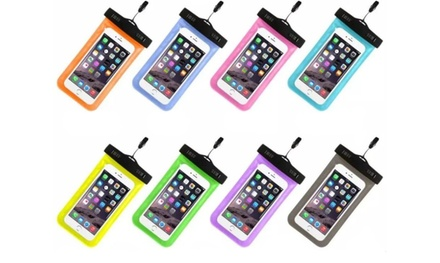 Universal Waterproof Mobile Cell Phone Dry Bag Case Was: $24.95 Now: $6.95.