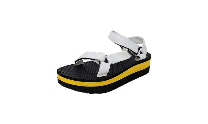 0cd303ef6420 Teva Women s Flatform Universal Sandals