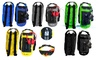 Waterproof Dry Floating Duffel Backpack Bag w/ Backpack Straps