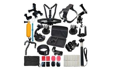 37-in-1 Camera Sports Accessories Kit for Gopro Hero 5 4 3+ 3 2 1 aaacf9b8-1fe7-4b65-ab1c-84b258633a54