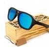 Wooden Sunglasses Iceman Aviator Mens Womens Bamboo Wood Eyewear