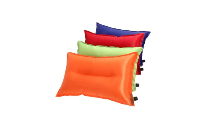 Super Portable Automatic Inflatable Air Cushion Pillow Outdoor Travel