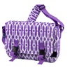 Wishbone Jumpstart Messenger Bag Purple