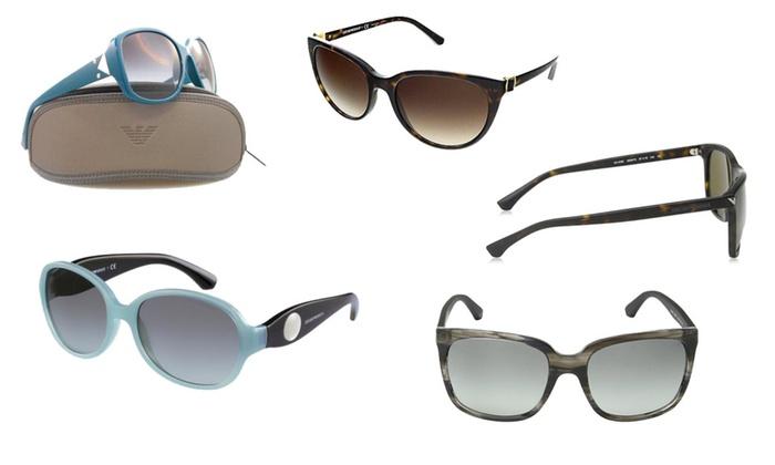 Emporio Armani assorted Women's Sunglasses Store Display