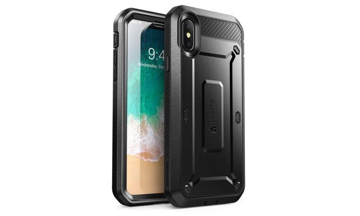 size 40 ae932 27c8f iPhone X Case, SUPCASE Rugged Holster Case Unicorn Beetle PRO Series