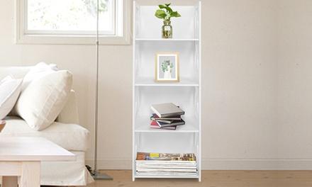 Various Types Wood-plastic Desktop Bookshelf Organizer Shelving/Coffee Table