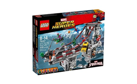 LEGO Marvel Super Heroes Spider-Man Web Warriors Ultimate Bridge 76057 a54bf36d-3af2-4007-a41d-e45474485429