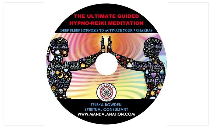 Guided Hypno - Reiki Meditation, Deep Sleep Hypnosis Chakra Activation