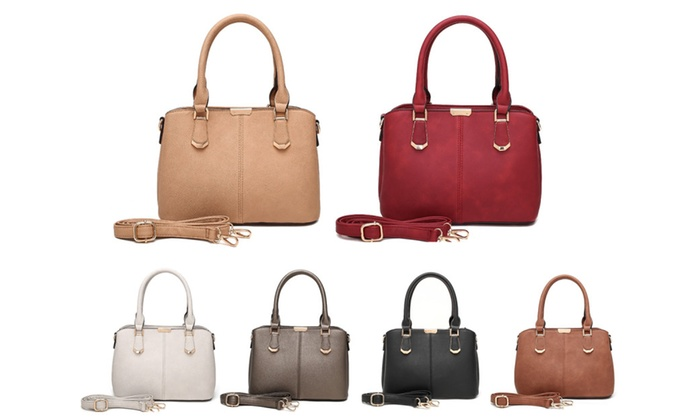 Style Strategy Mini Top Handle Bag