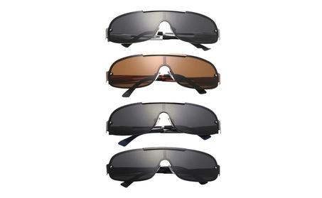 Men's Round Metal Frame Sun Protection Beach Sunglasses 98ca7393-f918-4855-b380-ae5a8d1513ea