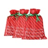 MissShorthair Christmas Holiday Gift Bags Large