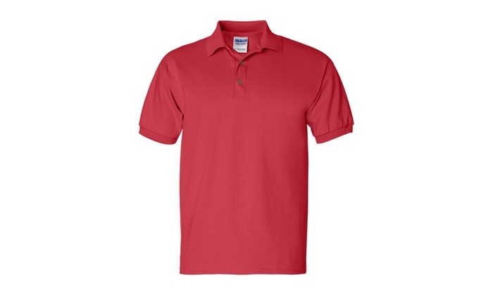 8db973484b1 Gildan Ultra Cotton Jersey Polo 2800-2 | Groupon