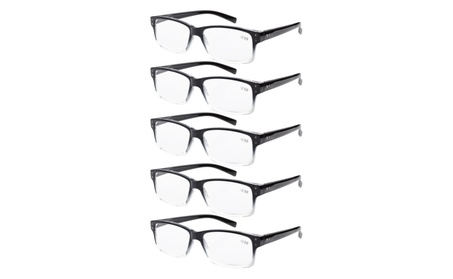 Eyekepper 5-pack Spring Hinges Vintage Reading Glasses R032-Mix c08fb87a-0956-453f-b982-b6e299b73a92