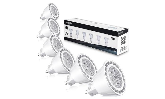 MR16 LED Bulbs,GU5.3,7W=50W Equivalent,500lm,3000K Warm White