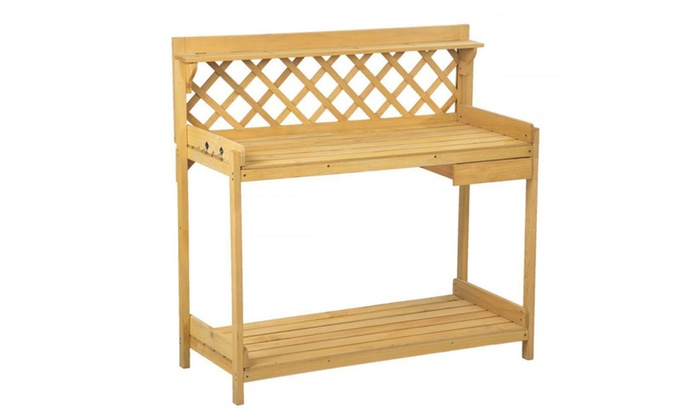 Wondrous Potting Bench Outdoor Garden Work Bench Station Andrewgaddart Wooden Chair Designs For Living Room Andrewgaddartcom