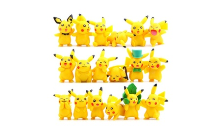 "Pokemon Pikachu Action Figures Toy (Lot of 18 Piece), 1.8"" f0492088-b32d-4590-bb8e-79ac1e9f0d65"