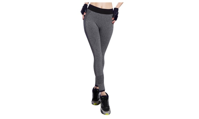 Yoga Power Flex Dry Fit Pants Workout Leggings