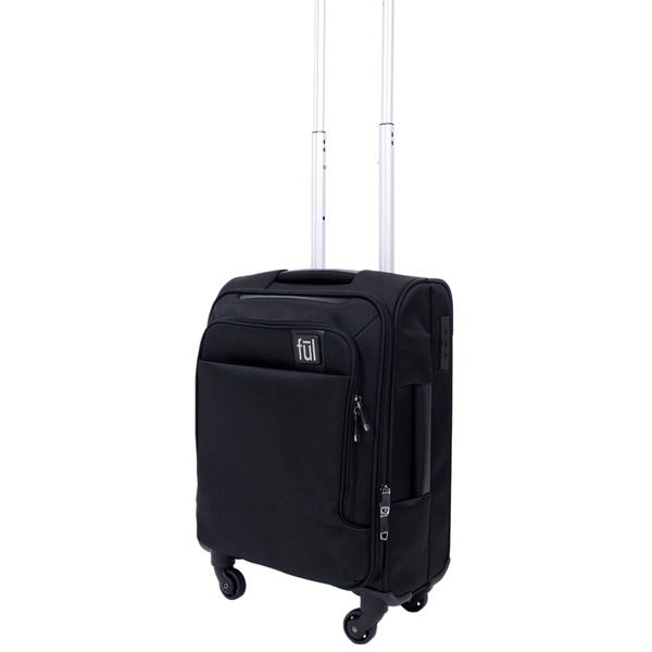 a282f8b4da FUL Flemington Soft Sided Rolling Luggage Suitcase | Groupon