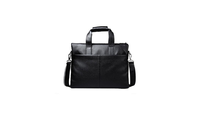 Men's Velcro Zipper Closure Crossbody Bag