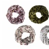 Peach Couture Bird Print Skinny Infinity Loop Scarves(1, 2 and 3 Pack)