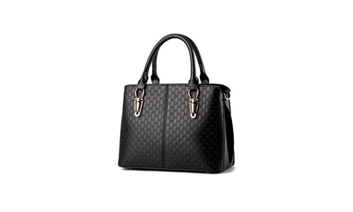 Garden Prom Women Handbags Top-handle Bag Tote Leather Ladies Bag