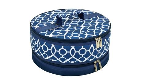 Trellis Blue Pie/Cake Carrier 057aa7cf-bf2a-4268-b6bc-b494201b95db