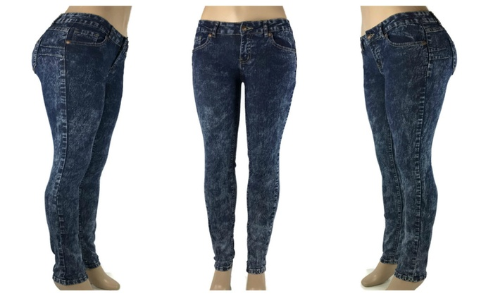 Butt Lift Skinny Jeans Colombian Design