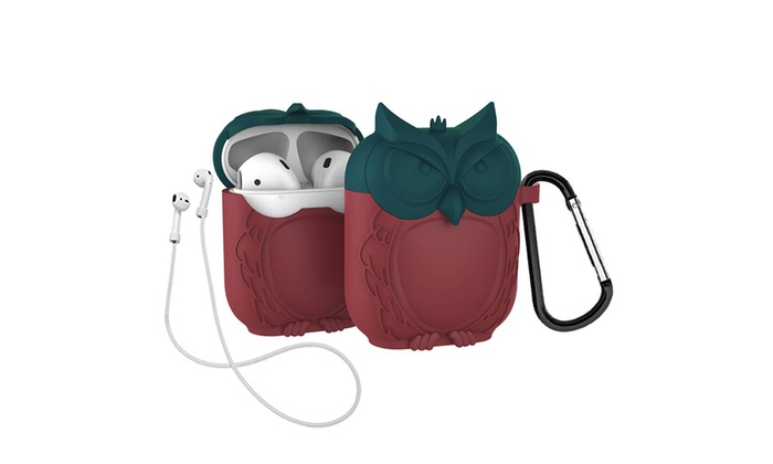 Lovekiss Cute Owl Pouch Compatible For Apple Airpods Case Groupon