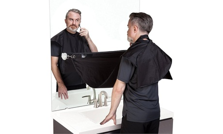 Beard Trimming No Mess Hair Catcher With Bonus Beard Comb (Black) 2ab978e3-2b54-4f8d-b09c-4c2e7b262472