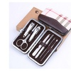 7 Pieces Pedicure Manicure Set Nail Clippers Cleaner Grooming Kit