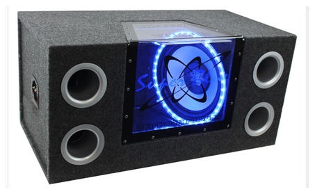 "Pyramid 12""1200W Car Audio Subwoofer+Box +1100W Mono Amp+Wiring Kit 26d04371-05e7-495b-844f-3b1830fe1153"