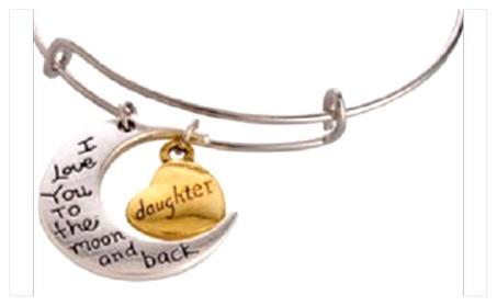 3pc Grandma, Mom & Daughter Bracelet Set I Love You To The Moon & Back b6f2894d-e788-4892-a353-086a5d769fa5