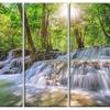 Kanchanaburi Waterfall - Photography Metal Wall Art