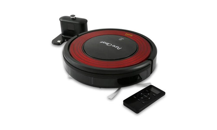 63% off on pure clean smart robot vacuum | groupon goods
