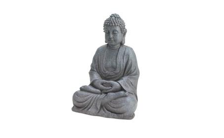 Fiberglass Meditating Buddha Statue f62a4020-945d-4572-9490-dc65714bb2ee