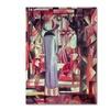 August Macke 'Woman In Front of a Window' Canvas Art