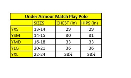 Under Armour Boys' Match Play Polo f3009745-fd0a-4897-91fb-7c94a51ccf70