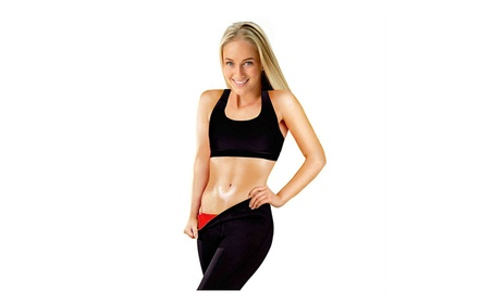 Heaven Slim Down Hot Pant Capris for Women (Black/Red, Large) 0abf97f1-07bf-48ee-a78b-c1ea4c073a27