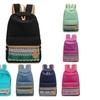 School Canvas Girls Boys Womens Boho Backpack Shoulder