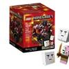 LEGO Minecraft Micro World: The Nether 21106 Ghast Zombie Pigman Build