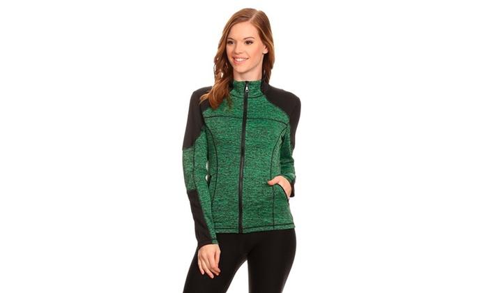 Women's Active Wear Zip Up Jacket