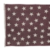 VHC Brands Americana Rugs Antique Red Star Red Rectangle Rug