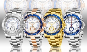 Stuhrling Men's Chronograph Bracelet Watch