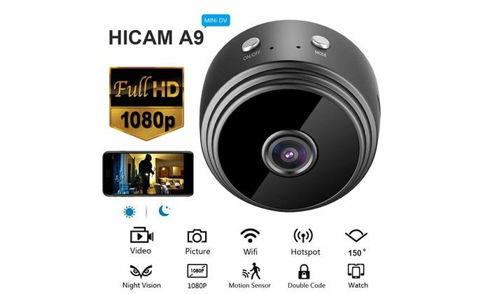 Mini Spy Camera Wireless WiFi IP Home HD 1080P DVR Night Vision Remote UK SELLER