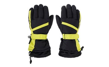 Men's Water Resistant Winter Sportswear Snowboard / Ski Gloves