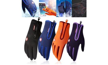 Winter Gloves Warm Windproof Gloves Waterproof Gloves Touch Screen Gloves