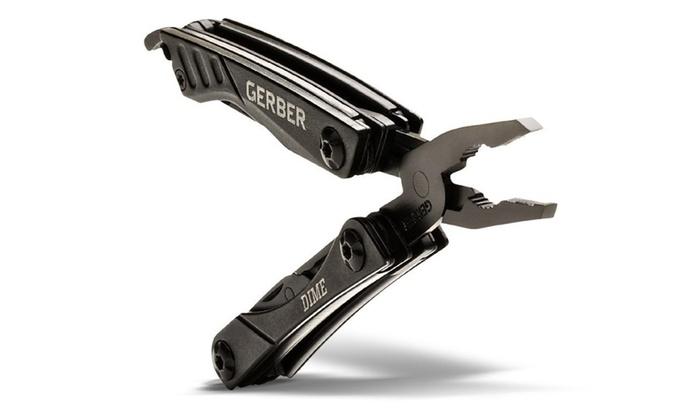 Gerber 31-001134 Multi-Tool Micro Dime, Black