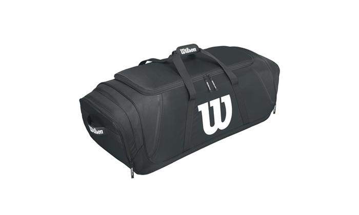 Wilson Team Gear Baseball Bag-Black