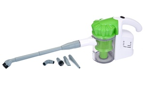 Hand-Held Corded Vacuum Cleaner with Cyclone Filter System